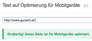 optimiert für mobile