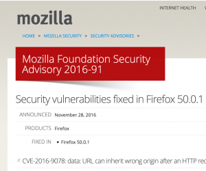 Mozilla Firefox Zero Day Exploit Sicherheitswarnung